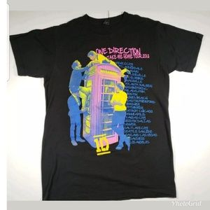 2013 One Direction Tour T-shirt size Small